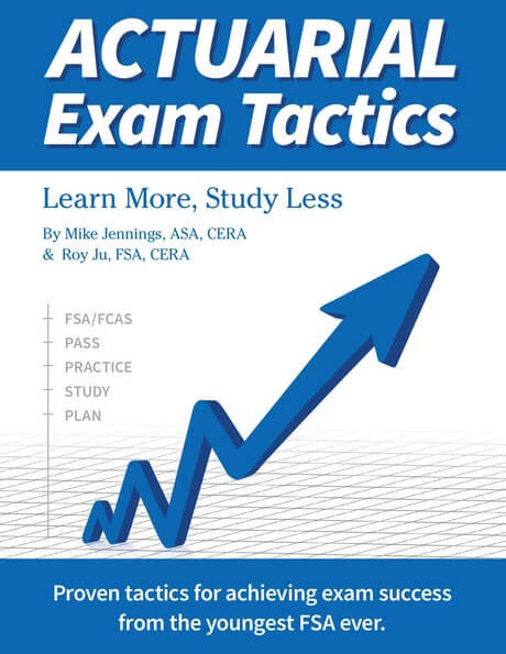 Actuarial exam tactics learn more study less the book is precisely as long as it should be concepts explained brief examples given and done no unnecessary fluff and as other reviewers have noted altavistaventures