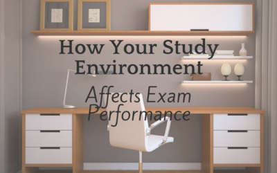 How your study environment affects exam performance