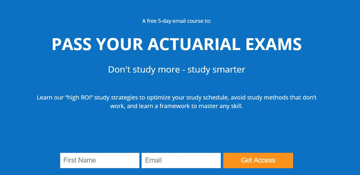 Actuarial Exam Study Resources - Learn More Study Less