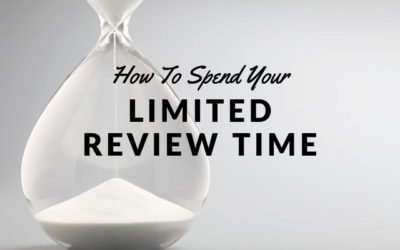 How to Spend Your Limited Review Time