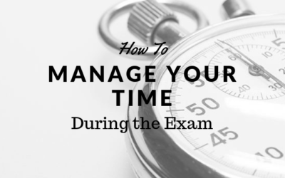 How to Manage Your Time During the Exam